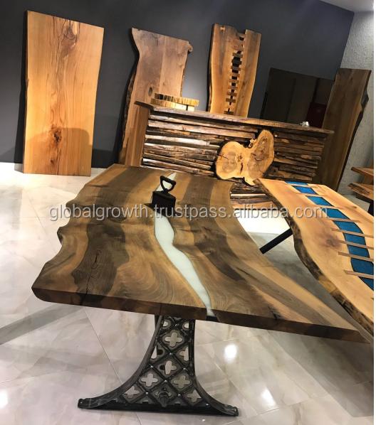 100% Unique Walnut Resin Blackjack + Poker Tables Custom Made for Casinos Hotels Restaurants Bars Clubs Lounges (California USA)