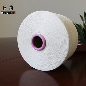 Ne 20/1 100% Cotton Carded Open End Yarn Unwaxed For Weaving Contamination Free