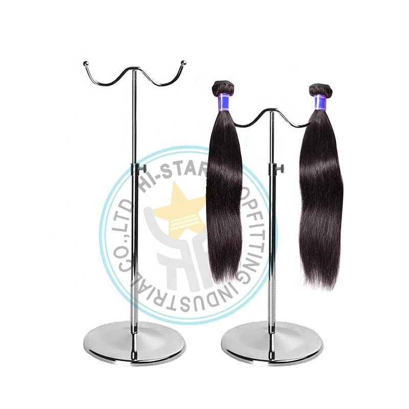 Metal hair extension display rack for <strong>retail</strong>