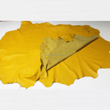 Sheepskin leather hides Mango Yellow soft leather  Lamb Skin Napa Soft Leather Finest Quality Wholesale Sheep Hide