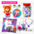 Safari Animal 3D Custom Creative Rainbow Scratch Art Diy Craft Kit Papier Speelgoed Voor Kinderen Kaart Verf Kit Leeuw Giraffe