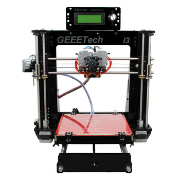 Geeetech PRO C dual head nozzle 3d printers machines SLS dual extruder prusa 3d rapid printer big size industrial 3d printer