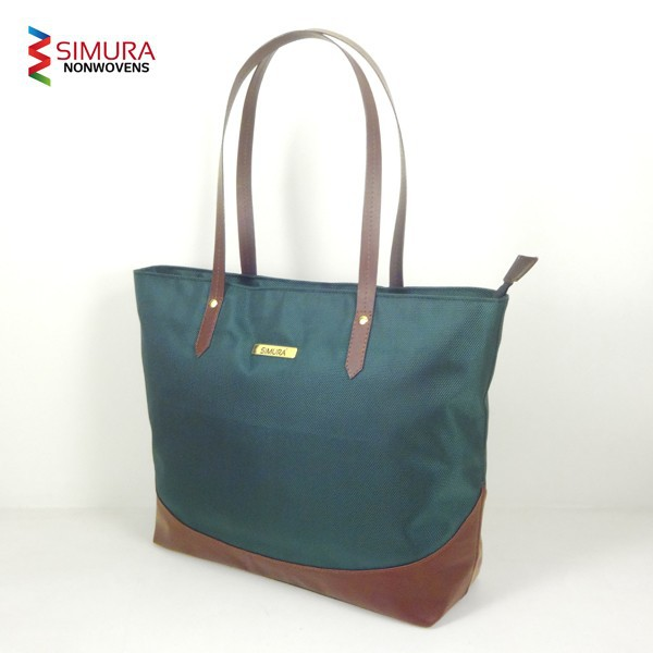 Long Handle Ladies Hand Bag with Nylon Fabric
