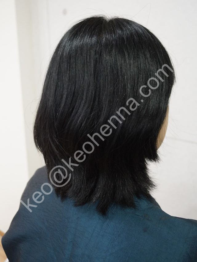 Natural Black Hair Color - Chemical Free Hair Colors