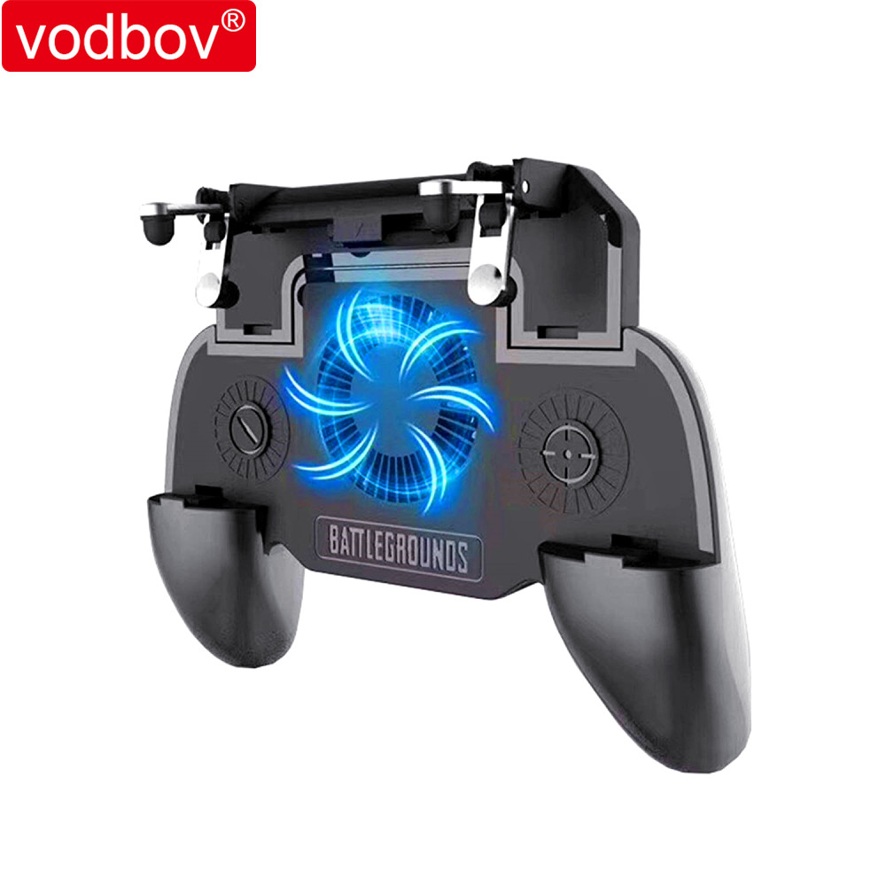 vodbov Mobile game <strong>controller</strong> triggers L1R1 Fire shooting button gamepad joystick