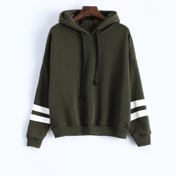 Girls Hoodies contrast Women Hoodies printing body print long sleeve customs  hoodies sweatshirt manufacture from  Bangladesh