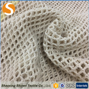 Professional in 100% cotton Warp netting mesh fabric