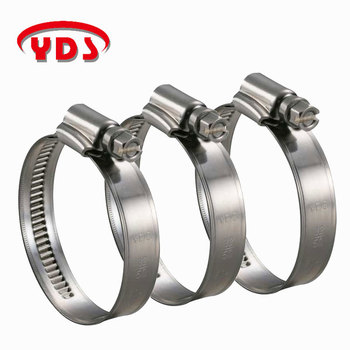 Stainless Steel 316 Water pipe Hose Clamp