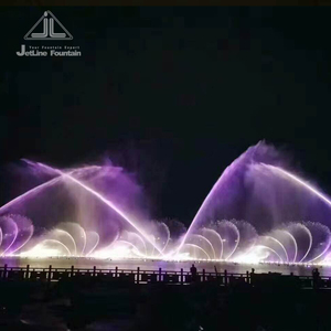 Large Outdoor Water Musical Dancing Fountain
