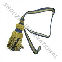 Military Uniforms Silk Sword knot with tassel- Bullion Sword Knot in Gold color with tassel