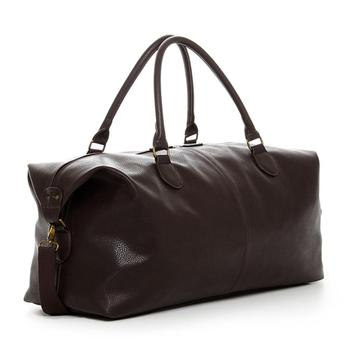 travel leather bag simple design