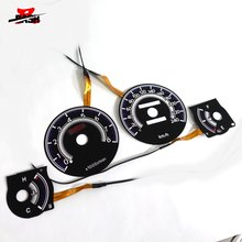 DASH EL glow gauge for Corolla AE100 1993 1997 240 km 8000 RPM Black Panel Reverse White light