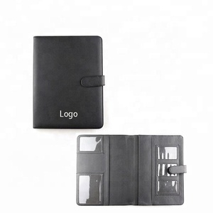 Auto Registration Insurance Book Style Folio wallet waterproof customized travel leather car document holder