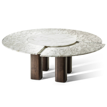 Fashion solid surface composite marble top dining table luxury dining table for <strong>furniture</strong>