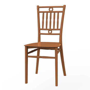 Plastic PP bamboo chair No.01222 Duy Tan Plastics original from Vietnam