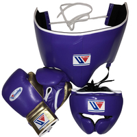 pakistan customised winning boxing gloves, Boxing Winning Gloves, Purple Leather boxing gloves DG-6500052