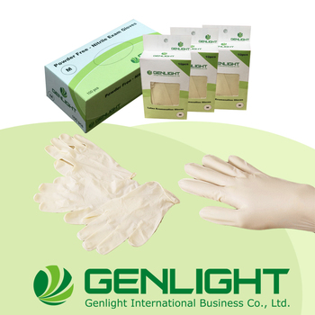 Hot Sales non sterile Taiwan technology Examination Latex gloves