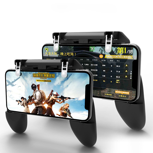 Wholesale <strong>W10</strong> Type Wireless L1R1 Mobile Game Controller Mobile Gaming Trigger for MOBILE