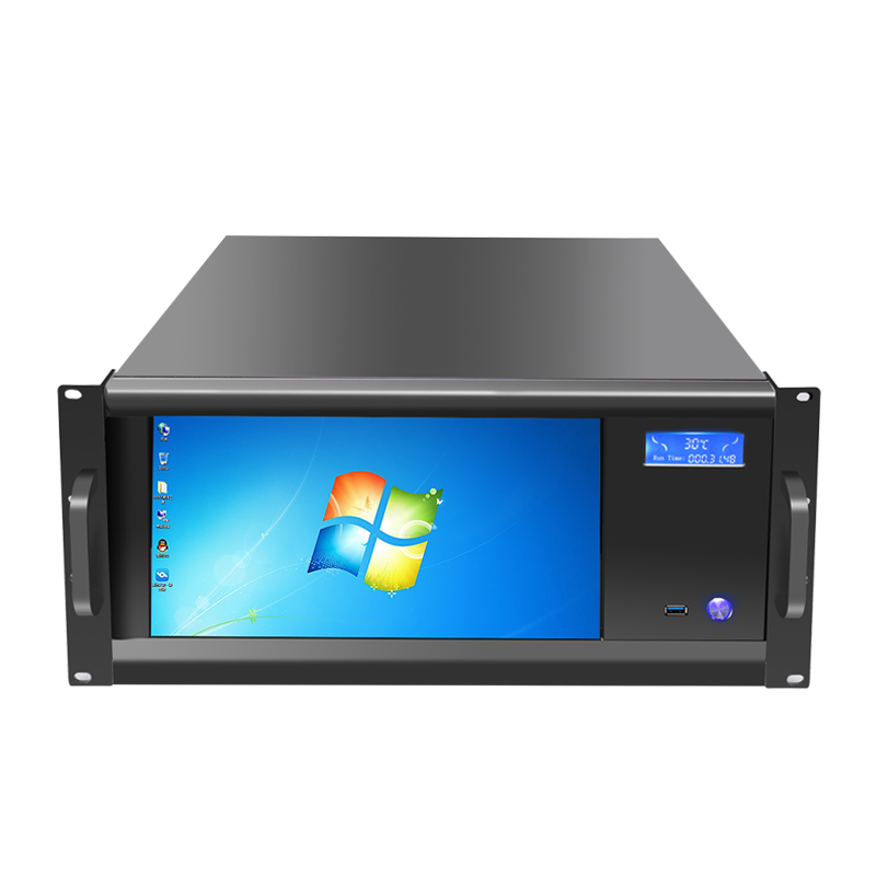 "New model 5U Industrial case with <strong>13</strong>.3"" LCD 1920*1080 touch HD screen LED support 12*<strong>13</strong> inch MB"