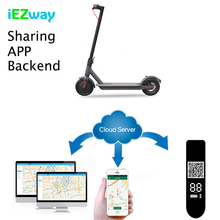 2019 iEZway Alibaba Customized Sharing Electric Scooter APP Development in Android and IOS with complete backend