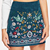 Zega apparel embroidered skirt