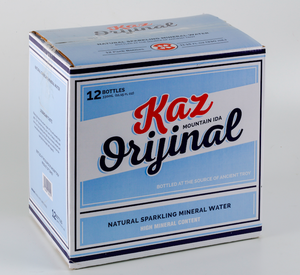 Kaz Original Natural Sparkling Mineral Water