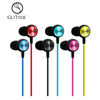 custom universal colour wired stereo music earphone
