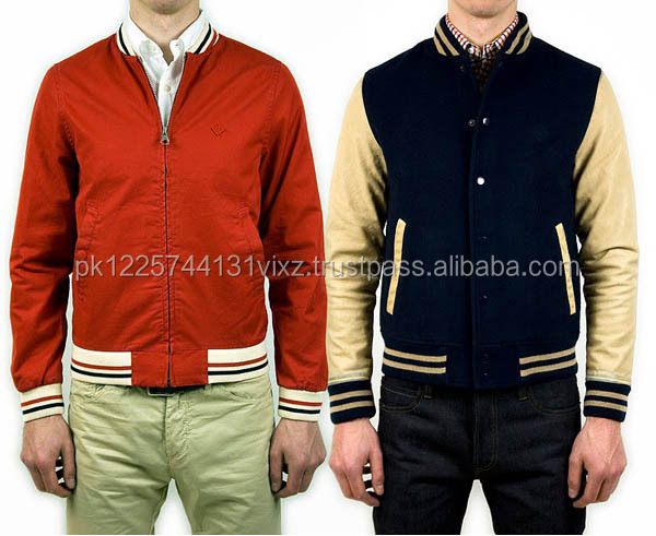 Custom Youth Size Plain Winter College Style Wool Varsity Letterman Jacket for Men American Hip Hop