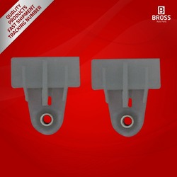 2 Pieces Window Regulator Glass Channel Slider Sash Connector Clips