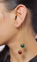 Indian Traditional Earring M-G Exclusive Ethnic Ear Cuff