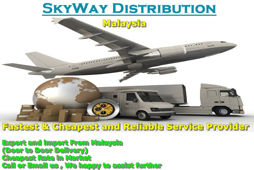 Airfreight import&Export from/to Malaysia (Door to Door delivery)