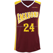Stan Caleb wholesale blank basketball jerseys&basketball uniform design&latest basketball