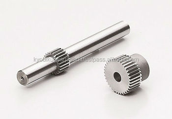 High precision ground spur gear Module 0.5 Chromium molybdenum steel Made in Japan KG STOCK GEARS