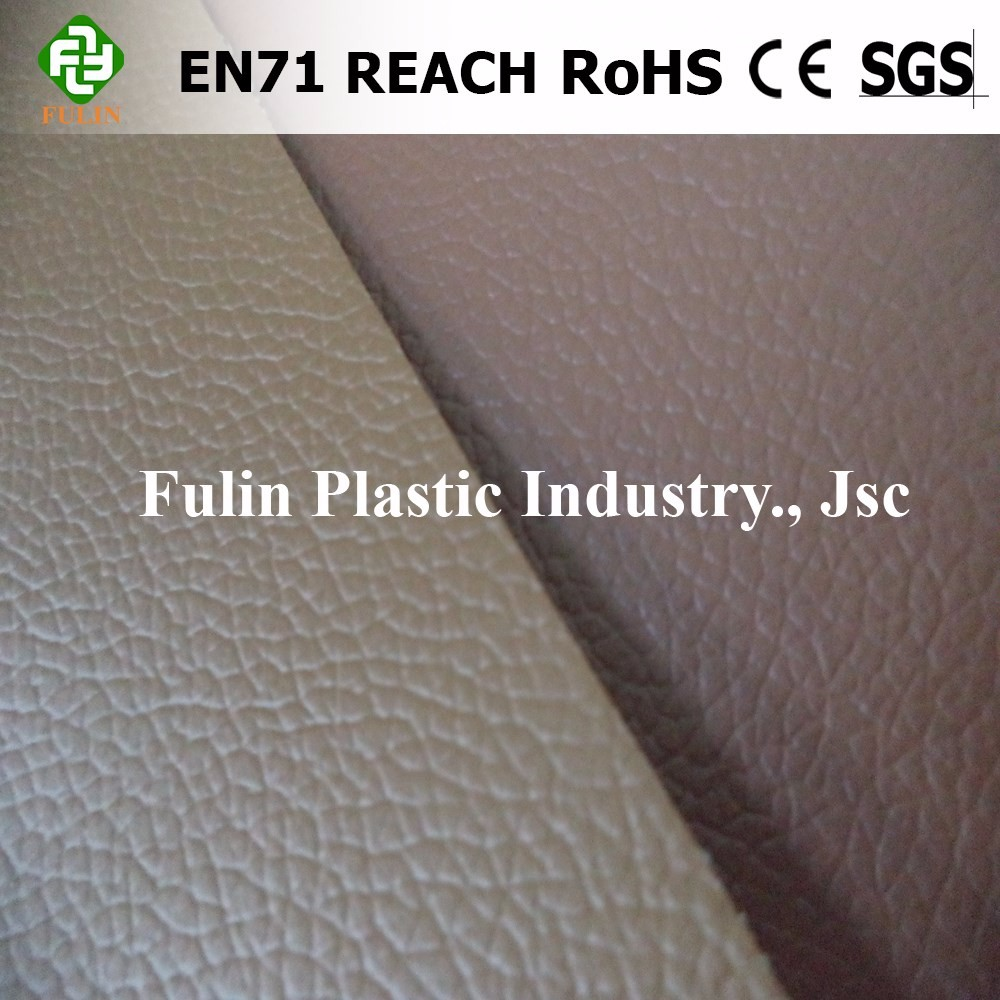 pvc synthetic artificial leather for sofa car seat cover shoes upholstery from factory Vietnam