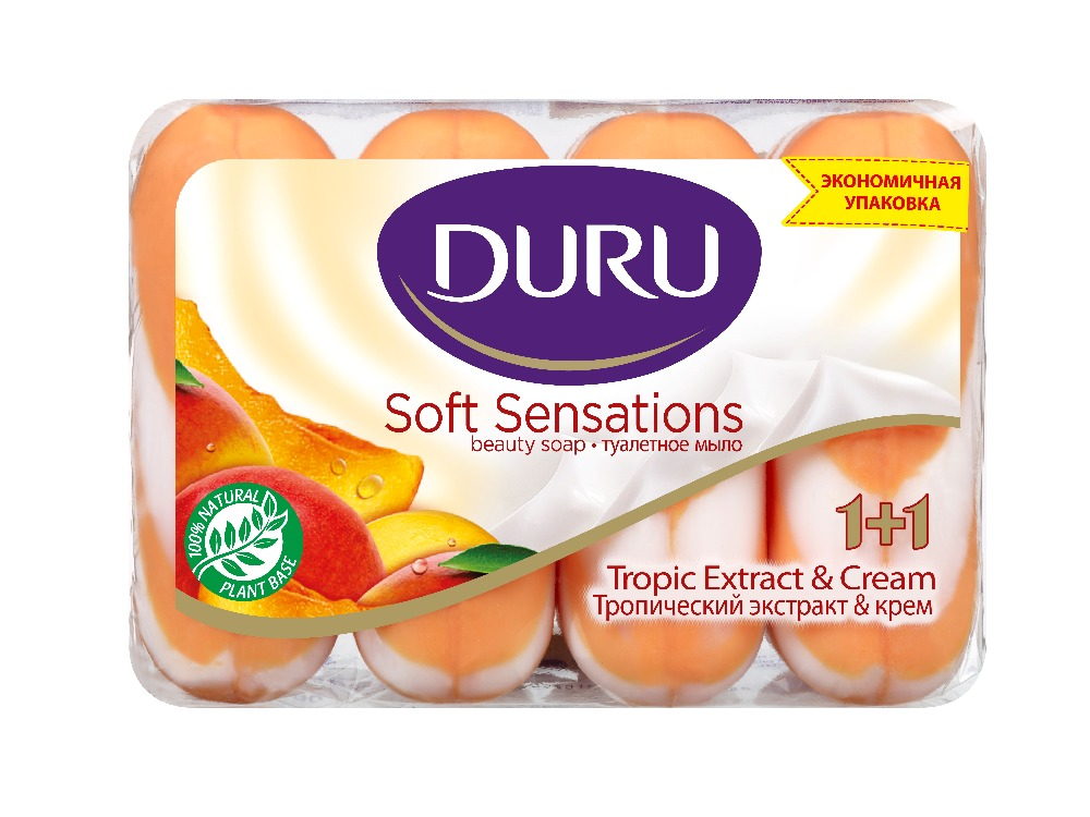 DURU SOFT SENSATIONS TROPIC EXTRACT & CREAM