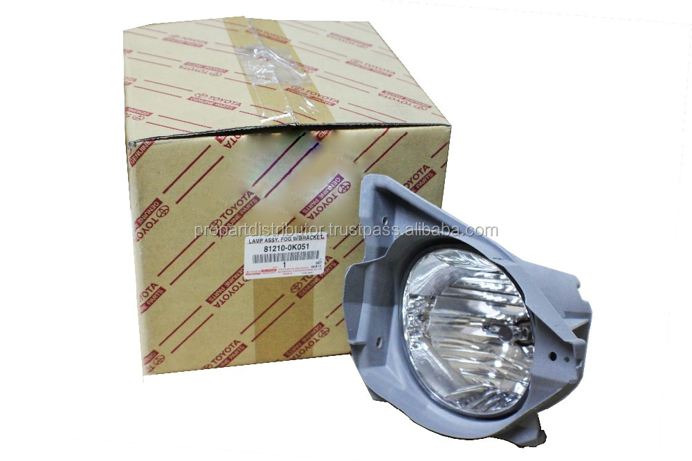 TOYOTA 81210-0K051 FOG LAMP ASSY, FOG W/BRACKET, RH Toyota auto spare parts and others auto parts / car parts
