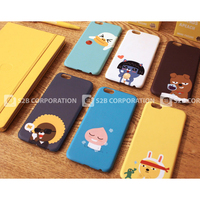 00739 For iPhone 6/6S/6 Plus/6S Plus/LG G5/G4/G3_Kakao Friends Hard_Smart Cellular Mobile Phone Case Cover
