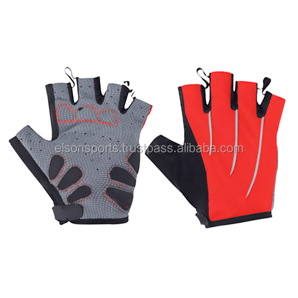 Half Finger Bike Gloves Shockproof Mountain Bicycle Gloves