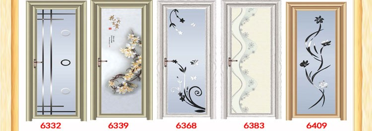 aluminum bathroom door swing single main door design cheap price