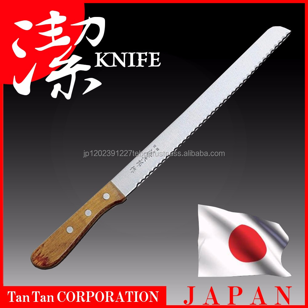 Japanese sharp-edged chef knife handmade by highly skilled craftsmen