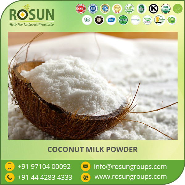 Low Fat Coconut Protein Milk Powder Available with Various Packaging