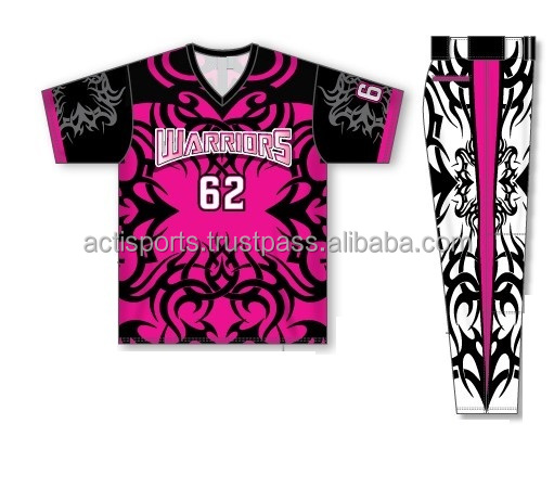 Sublimated Baseball Uniform Jersey & Pants, Customize your Designs, colors, sizes in required quantities