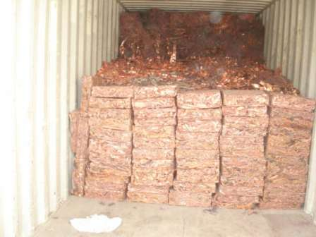 Copper WIRE SCRAP, Mill Berry 99%-99% for Sale