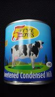 5 cows sweetened condensed milk 1 kg