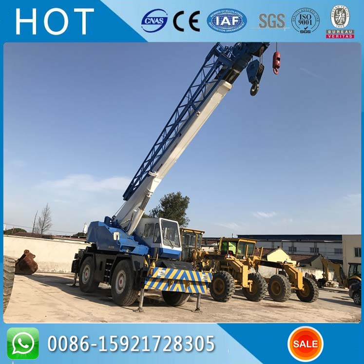 GR250N 4WD 25 Ton TADANO Japanese Manufacturer Used Rough Terrain Crane
