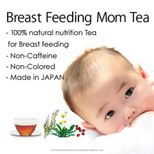 Rooibos herbal tea for promoting breast milk for breastfeeding mothers