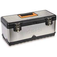 Beta Tools 021170502, CP17L Made of Stainless Steel and Plastic Tool Box with Removable Tote-Tray