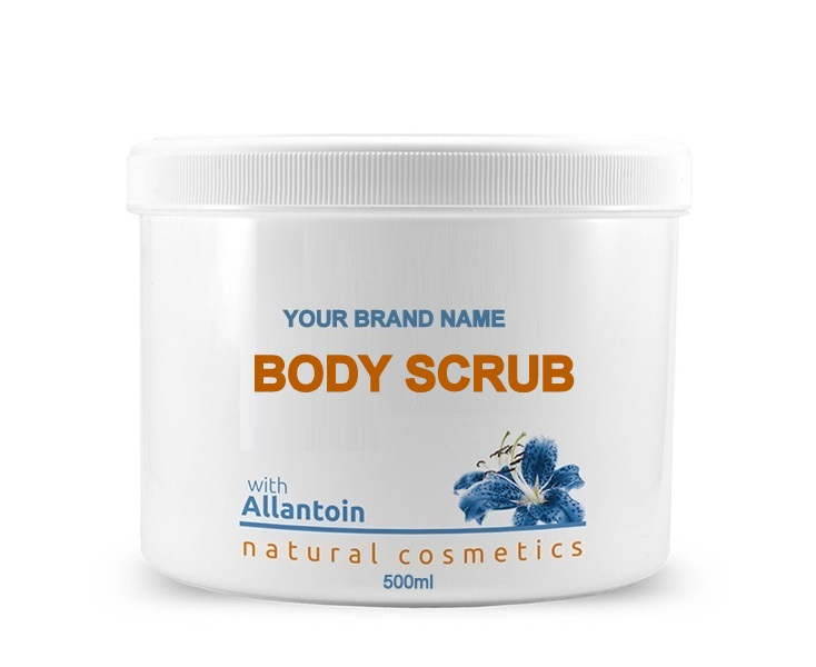 Face & Body Mask Allantoin - 500ml. 100% Natural. Private Label Available. Made in EU