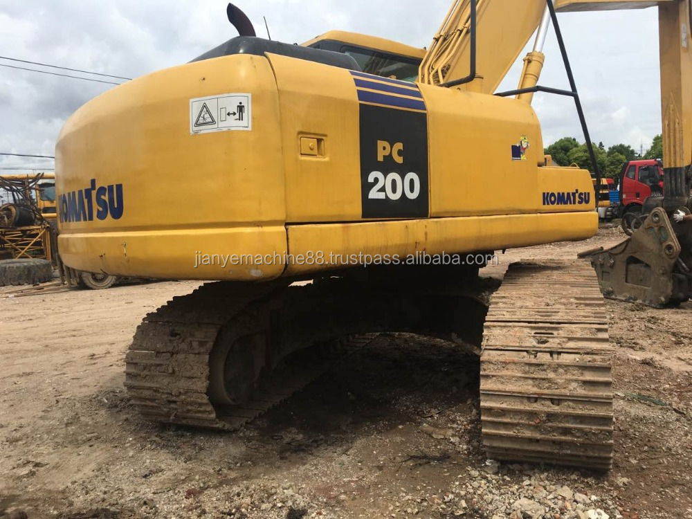 used excavator komatsu PC200-7 Japan's production for sale: 0086 15026518796