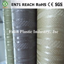 high class semi pu pvc synthetic leather for making shoes textiles leather material